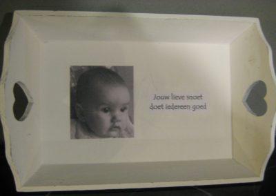 gemaakt voor doop kleindochtertje, maart 2013